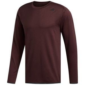 adidas Tech Mens Long Sleeve ClimaLite® Shirt